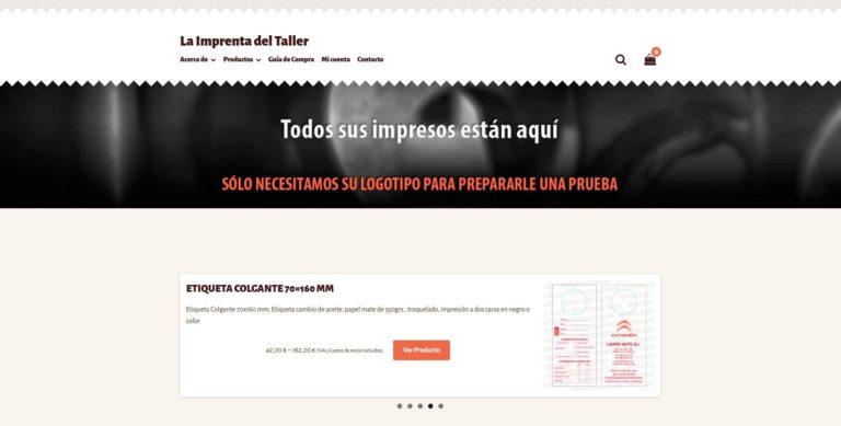 Proyecto La Imprenta del Taller